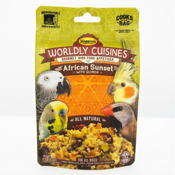Higgins Worldly Cuisines African Sunset Microwave In Bag 2 oz (57 G)