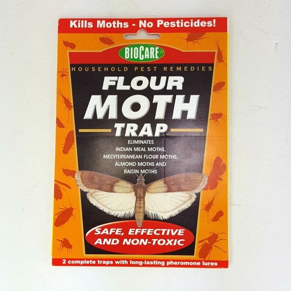 Pest Control Moth Traps with Pheromones 2 Pack BioCare Flat