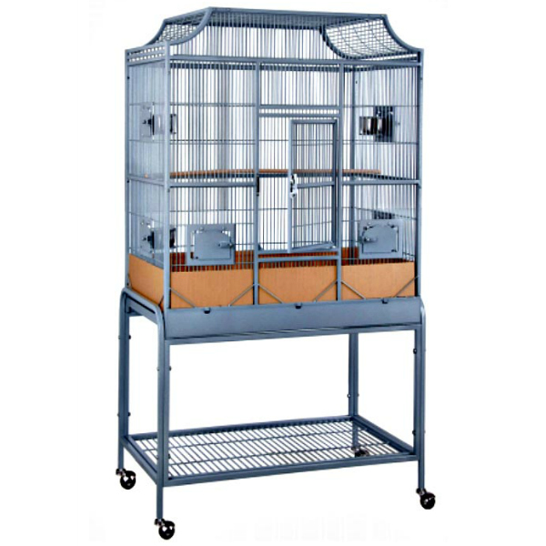 A Bird Cage And Parrot Cage Offer Exercise Food And Water