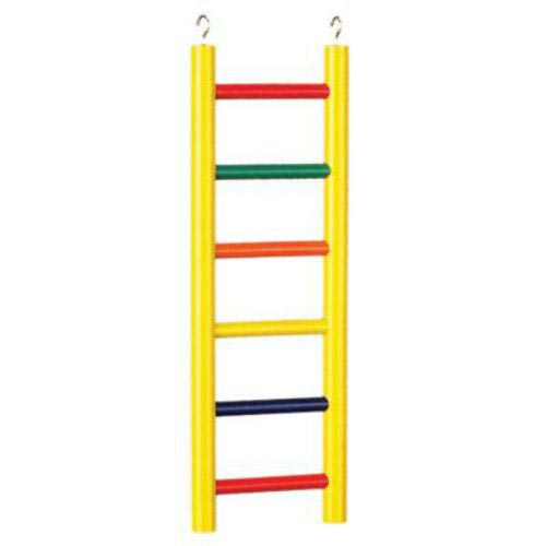 Ladder High Colorful 6 Wood Rung 12 Inch By Prevue