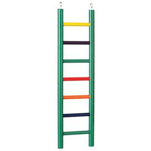 Ladder High Colorful 7 Wood Rung 15 Inch By Prevue