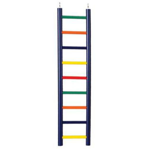 Ladder High Colorful 9 Wood Rung 18 Inch By Prevue