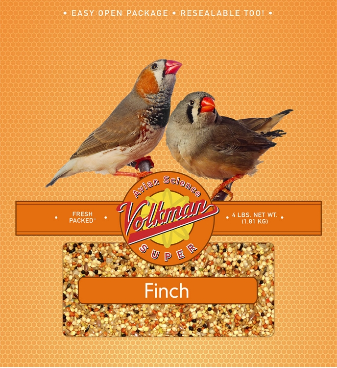 Volkman Avian Science Super Finch Food 4 lb (1.81 Kg)