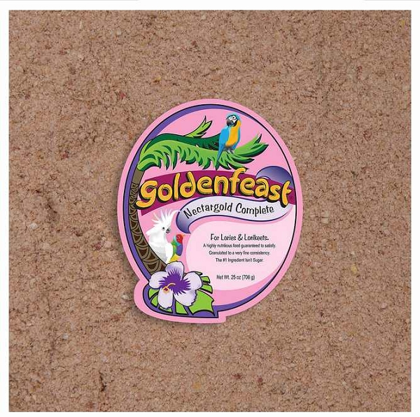 Goldenfeast Nectargold Complete For Lories Lorikeets 72 oz (2.04 kg)