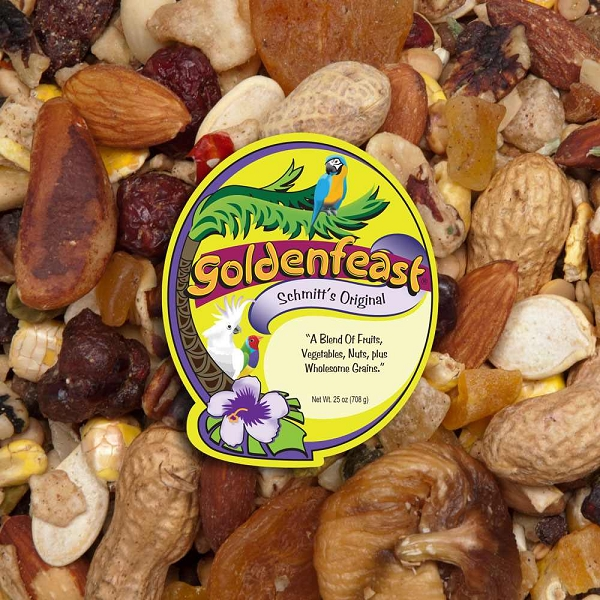 Goldenfeast Schmitt's Original Fruit and Nut Bird Food 25 oz (708 G)