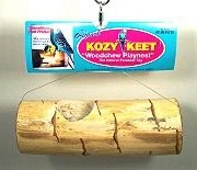 Wesco Bird Kabob Bird Toy Nest for Parakeets - Kozy Keet Playnest
