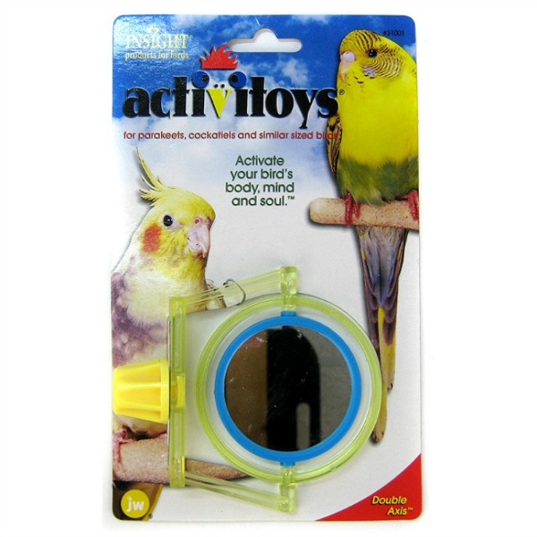 JW Pet Activitoy for Small Birds - Double Axis