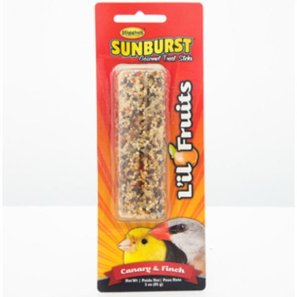 Higgins Sunburst Treat Stick Canary & Finch - Lil Fruits