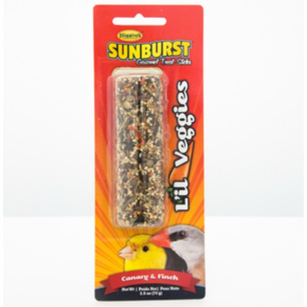 Higgins Sunburst Treat Stick Canary & Finch - Lil Veggies