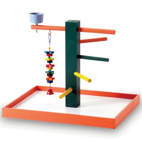 Portable Table Top Playground by Prevue for Conures