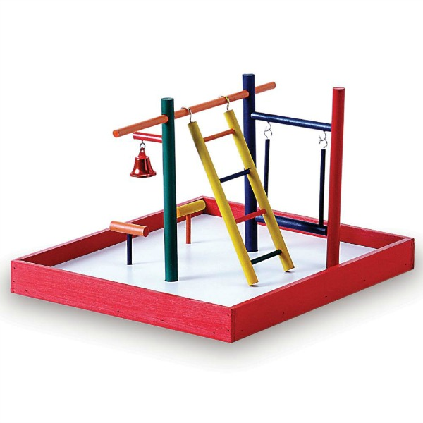 Portable Table Top Playground by Prevue for Parakeets