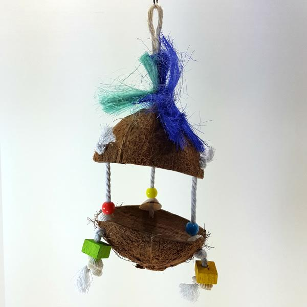 Tropical Teasers Bird Toy by Prevue Pet - Tiki Hut