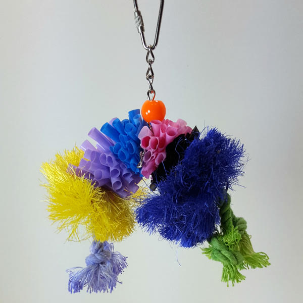 Calypso Preening Bird Toy - Over The Rainbow