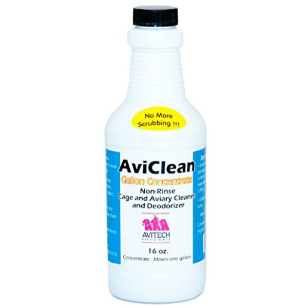 Avitech Aviclean Enzyme Cleaner Concentrate 16 oz Makes 1 Gallon