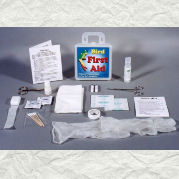 Avian First Aid Kit for Birds Parrots