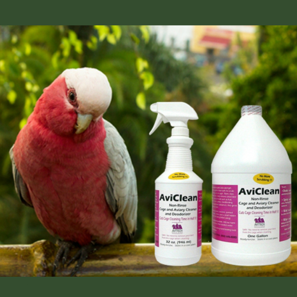 Avitech AviClean Enzyme Cage Cleaner Spray 32 oz