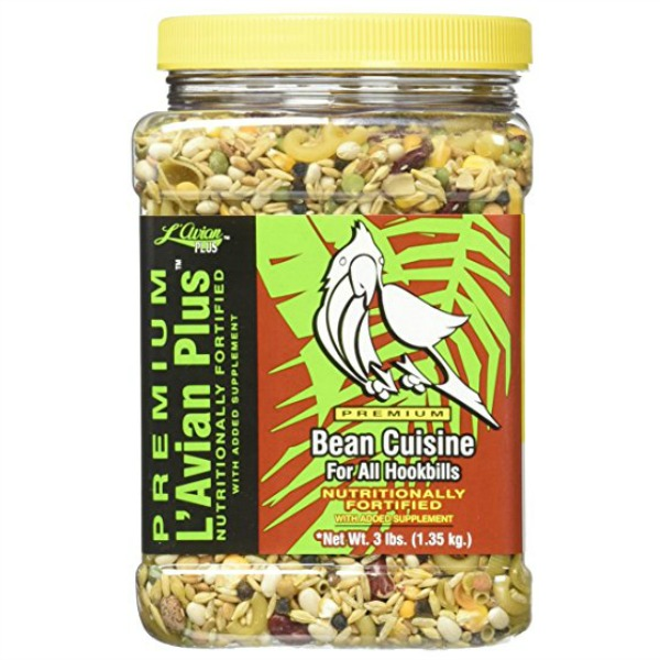 L\'Avian Bean Cuisine Plus Premium Cookable Pasta Mix 3 lb Canister