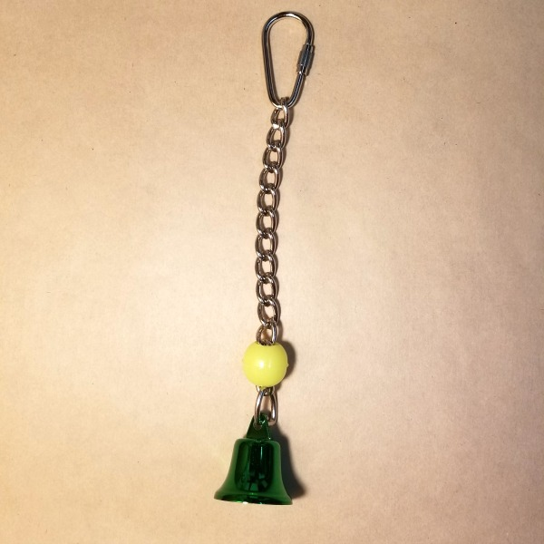 Tiny Tinkler Colored Bell Toy for Small Birds and Parrots Small