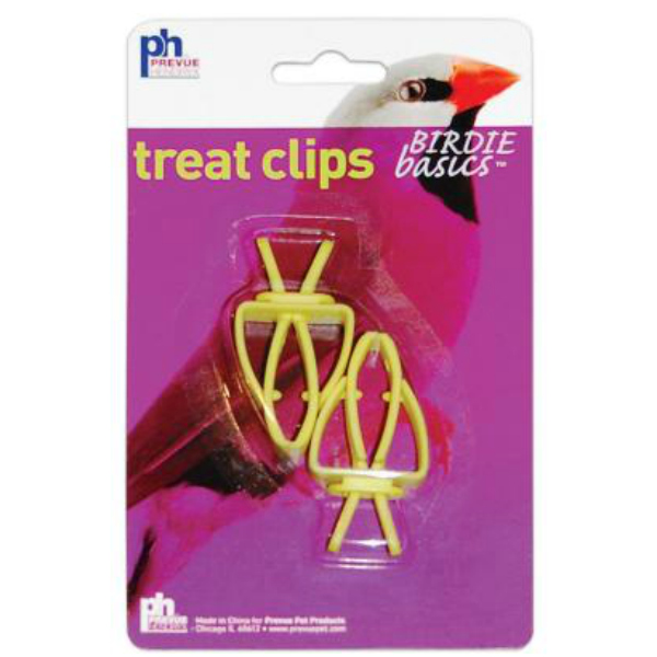 Birdie Basics Treat Clips by Prevue, 2 pc package