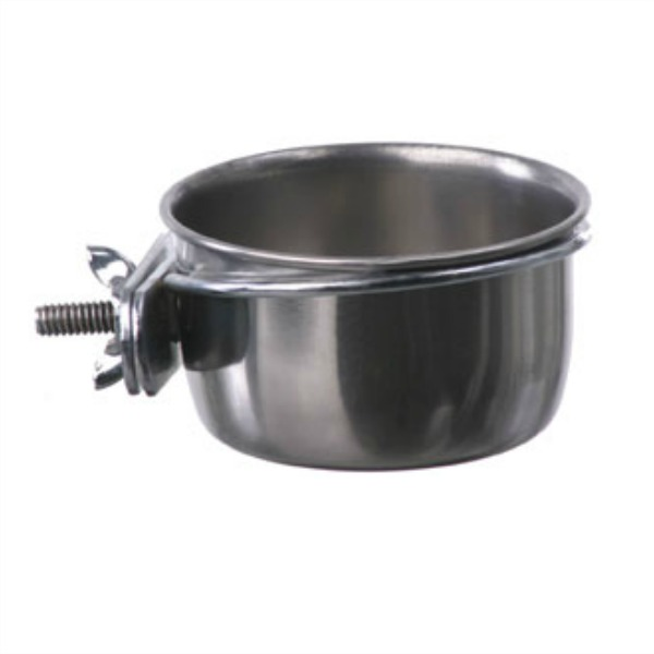 Coop Cup Stainless Steel Bolt On Dish 5 oz