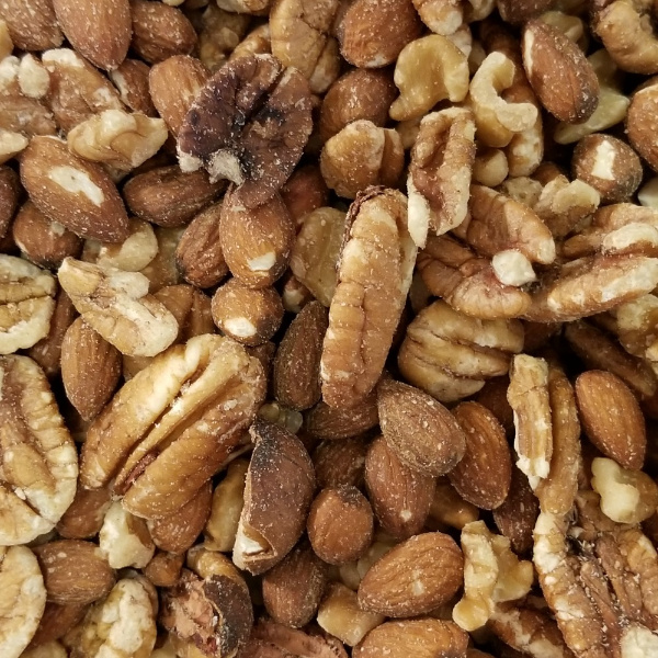 Pecans and Almonds out of Shell for Parrots 20 oz Zip Bag