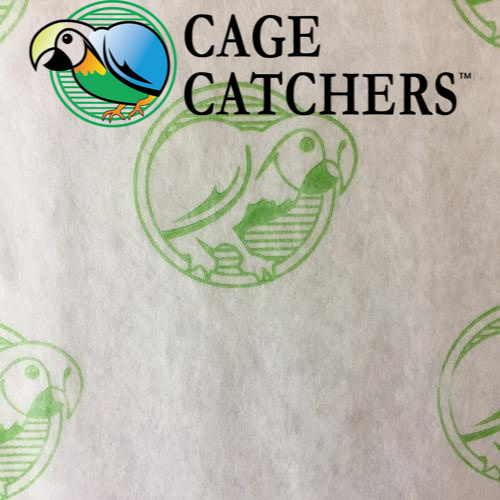 Hypoallergenic Treated Bird Cage Liners 16 x 16 1000 Count