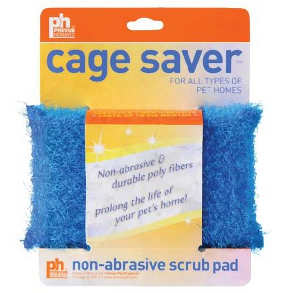 Cage Saver Scrubber Sponge Helps Clean Your Bird Cage Safely