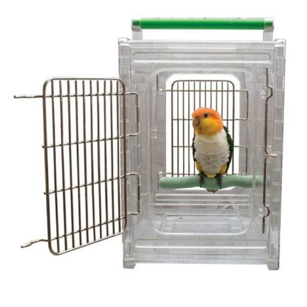 Caitec Perch & Go Carrier for Small & Medium Parrots 10x12