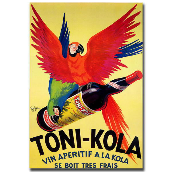 Canvas Parrot Art Toni Kola by Robert Wolff-Gallery Wrapped 35x47