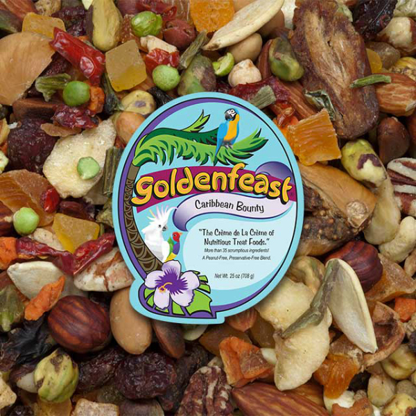 Goldenfeast Caribbean Bounty Peanut Free 25 oz (708 G)