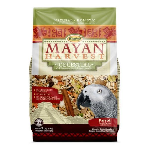 Higgins Mayan Harvest Celestial Parrot Food NO PEANUTS 3 lb (1.361 kg)