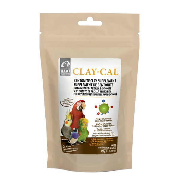 Clay-Cal Calcium Supplement for Birds by Hagen Hari 1.27 lb (575g) Box