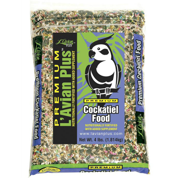 L\'Avian Cockatiel Food Plus Premium Seed Mix 4 lb (1.81 Kg)