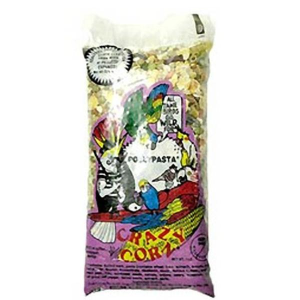 Crazy Corn Polly Pasta Cookable Bird Food 1 lb (454 G)