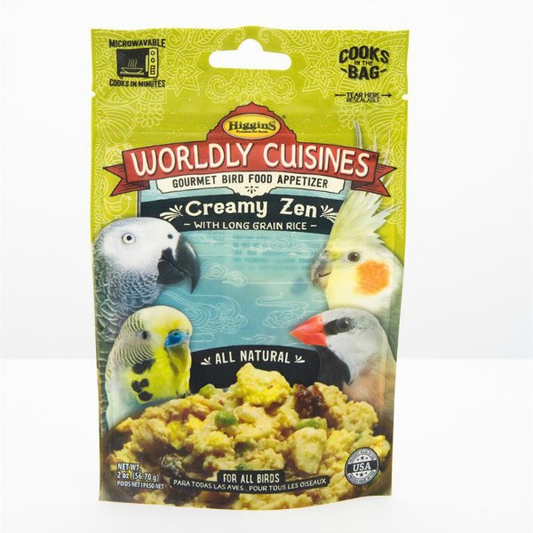 Higgins Worldly Cuisines Creamy Zen Microwave In Bag 2 oz (57 G)