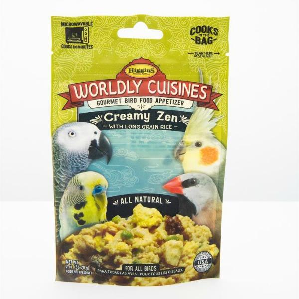 Higgins Worldly Cuisines Creamy Zen Microwave In Bag 2 oz (57 G)