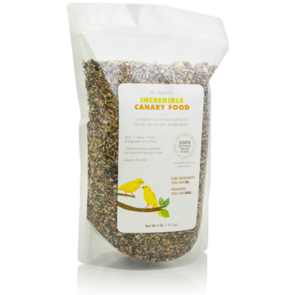 Dr. Harveys Incredible All Natural Canary Food 4 lb (1.8 Kg)