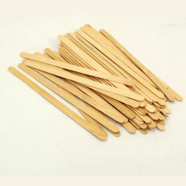 Tongue Teasers Wood Stir Sticks for Bird Toys 50 pc