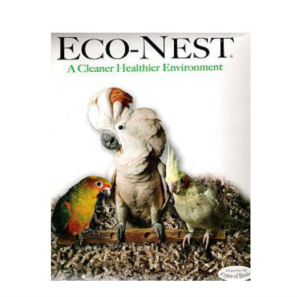 Nest Box Filler FibreCore Eco-Nest Paper Bedding for Birds 1 oz