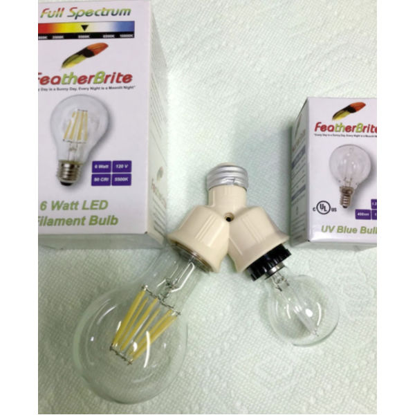 Full Spectrum LED Bulb Conversion Kit by Featherbrite