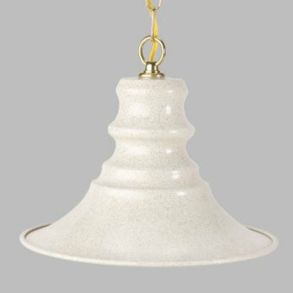 Full Spectrum Swag Light W Pagoda Shade by Featherbrite Silver