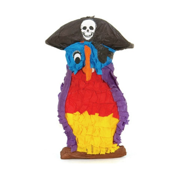 Fetch It Pet Bird Toy Polly Wanna Pinata Pirate Parrot
