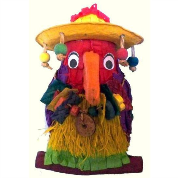Fetch It Pet Bird Toy Polly Wanna Pinata Pete the Parrot