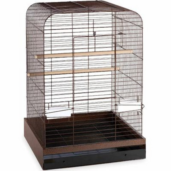 Flat Top Bird Cage for Medium Parrots by Prevue 124 Copper