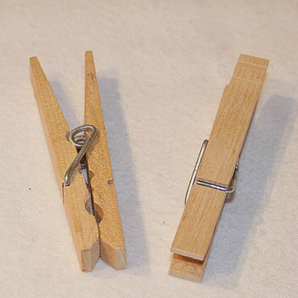 Cheap Bird Toy - Clothes Pins