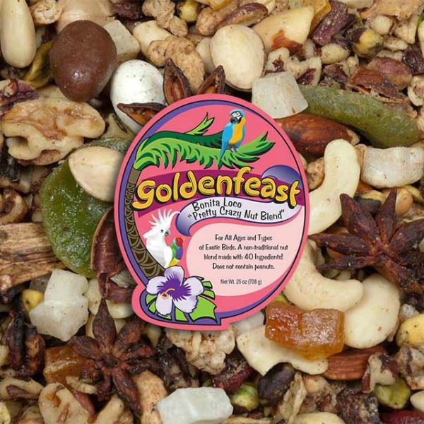 Goldenfeast Bonita Loco Pretty Crazy Nut Blend 25 oz (708 G)