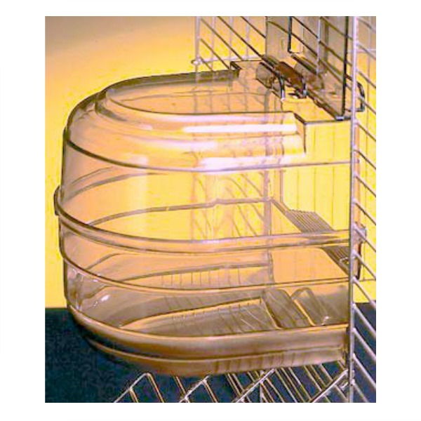 Bird Bath Multi Cage Fit for Small Birds by Hagen Hari