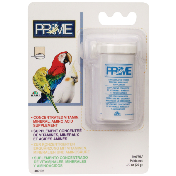 Hagen Prime Vitamin Water Soluble For Birds .70 oz (20 g)
