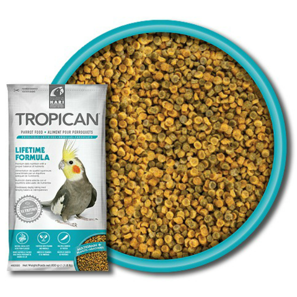 Tropican Lifetime Cockatiel Granules by Hagen Hari 1.8 lb (.816 kg)