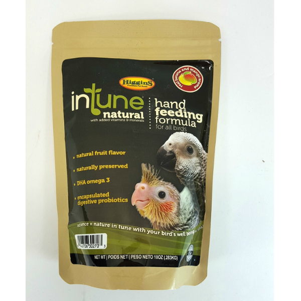 Higgins Intune Natural Hand Feeding Formula 10 oz (.283 Kg)